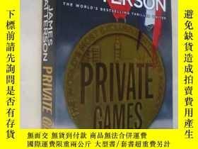 二手書博民逛書店Private罕見Games(16K)Y85718 James