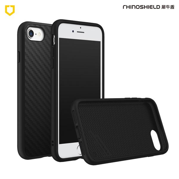 犀牛盾SolidSuit碳纖維防摔背蓋手機殼 - iPhone 7 / 8