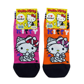 non-no儂儂褲襪《5入》日本製三麗鷗女短襪(包紮kitty)3713-209