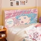 簡約卡通床頭套罩床保護套彈性全包萬能軟包...