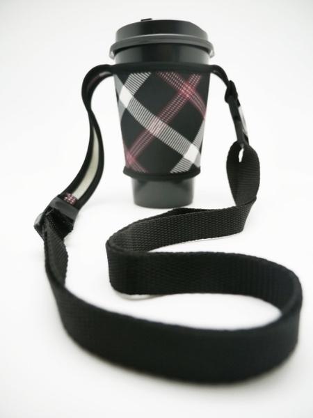 【杯套背帶】手提式飲料環保提袋 手搖杯手提袋 飲料杯 咖啡杯防燙套保溫袋 冰霸杯杯套背帶