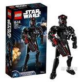 積木星球大戰系列75526精銳TIE戰機飛行員積木玩具xw