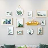 現代簡約客廳裝飾畫綠植小清新沙發背景墻掛畫北歐餐廳抽象墻壁畫