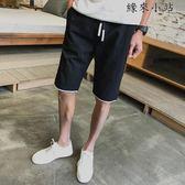 短褲男夏天五分馬褲子