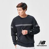 【New Balance】長袖T恤_AMT91508BK_男性_黑色