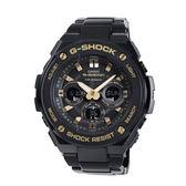 【僾瑪精品】CASIO 卡西歐 G-SHOCK G-STEEL系列 造堅韌無比運動錶-黑x金/GST-S300BD-1A
