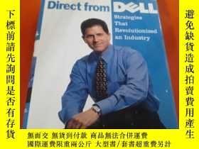 二手書博民逛書店邁克戴爾Michael罕見Dell:Direct from De