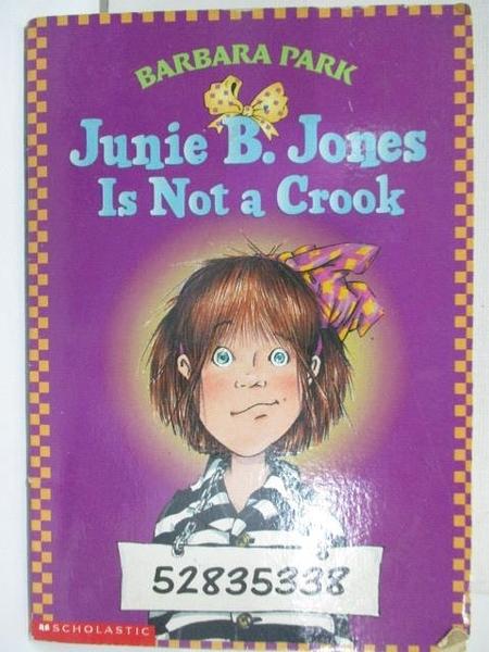 【書寶二手書T1/語言學習_AZF】Junie B.Jones Is Not a Crook