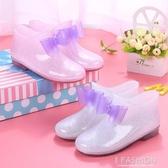 兒童雨鞋防滑男童女童雨靴公主中大童小孩小學生寶寶水鞋水靴膠鞋-Ifashion
