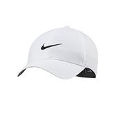 Nike 白 帽子 棒球帽 運動帽 網球帽 運動 刺繡 logo 六分割帽 可調整式 BV1076-100