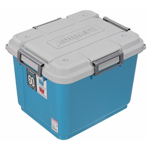 KEYWAY 海力士滑輪整理箱-藍(60L)【愛買】