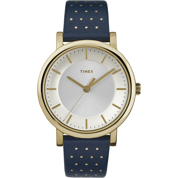 【TIMEX】天美時 風格系列 名媛女錶(藍 TXTW2R27600)
