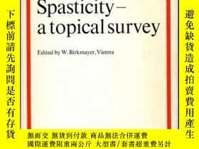 二手書博民逛書店SPASTICITY罕見- A Topical SurveyY3