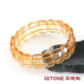 黃水晶手鍊-典藏切刻版型  石頭記