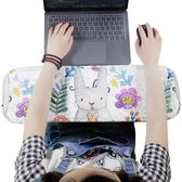卡通海綿手肘墊鍵盤胳膊手托電腦辦公護肘墊護腕托滑鼠墊趴睡墊子WY