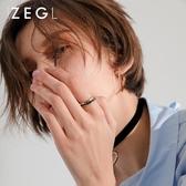 情侶套裝戒指男女日正韓個性潮人學生簡約關節食指環飾品 【快速出貨】