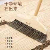 實木軟鬃毛掃把簸箕套裝組合地板掃帚單個家用掃地笤帚 i 叮噹百貨