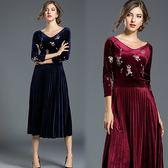 【歐風KEITH-WILL】(預購) 展現獨特復古洋裝
