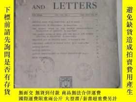 二手書博民逛書店indian罕見art and letters 印度藝術與文學