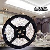 【光的魔法師】LED軟燈帶 60燈 DC12V 5米入(白光 軟燈條)