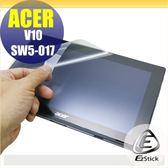 【Ezstick】ACER Switch V10 SW5-017 靜電式平板LCD液晶螢幕貼(可選鏡面防汙或高清霧面)
