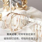 鐵藝創意耳環架飾品展示架子家用