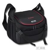 佳能相機包80D90D800D5D4EOS單反6D R RP 6D2原裝單肩便攜攝影包 3C優購