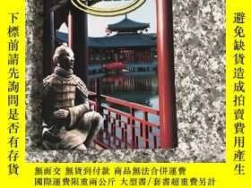 二手書博民逛書店Discover罕見SHAANXI(英文版陝西旅遊書)多彩圖;Y
