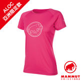 Mammut 長毛象 QD AEGILITY T-Shirt AF Women 彈性排汗透氣短袖 女款 桃紅 #1017-10072