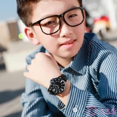 兒童錶 夜光兒童手錶男小學生防水男孩大童男童10-12-15歲初中生中學簡約