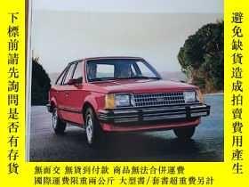 二手書博民逛書店1985年罕見FORD 福特 福睿斯 護衛者 汽車 Escort