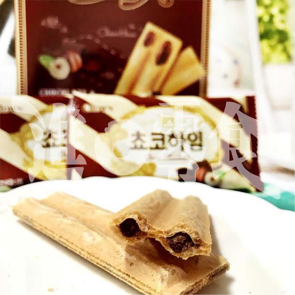 韓國 CROWN 巧克力威化酥 142g/盒 濃郁順口好吃 冰涼的巧克力硬度更加好吃【特價】★beauty pie★