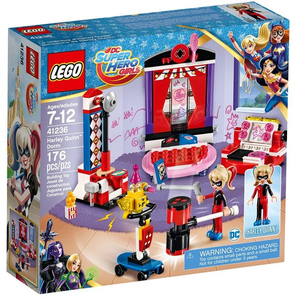【LEGO 樂高積木】 超級女英雄系列-Harley Quinn Dorm LT-41236