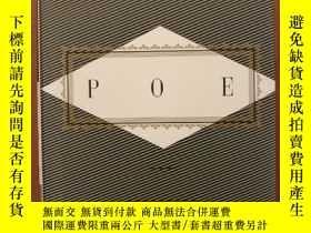 二手書博民逛書店Poe:罕見Poems and Prose (布面精裝)Y117