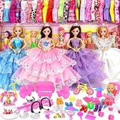 芭比娃娃 芭比洋娃娃套裝超大禮盒女孩玩具公主兒童夢想豪宅女童單個【風鈴之家】