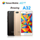 【Taiwan Mobile台灣大哥大】Amazing A32 五吋四核心智慧型手機 全新品保固一年 再贈原廠電池