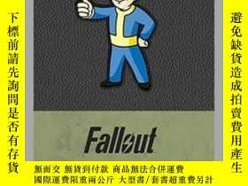 二手書博民逛書店Fallout罕見Hardcover Ruled JournalY410016 . Bethseda Soft
