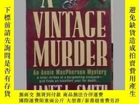 二手書博民逛書店英文原版罕見A Vintage Murder by Janet