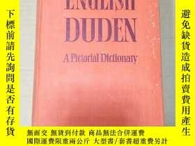 二手書博民逛書店English罕見dudenY8088 English dude