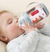 嬰兒學飲杯兒童吸管杯幼兒喝水飲水杯水瓶帶手柄防漏水杯寶寶水杯七夕特惠下殺