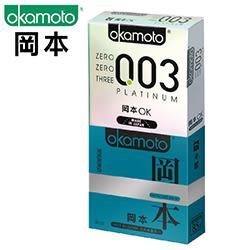 岡本003極薄白金衛生套3入裝+岡本潮感型衛生套3入裝