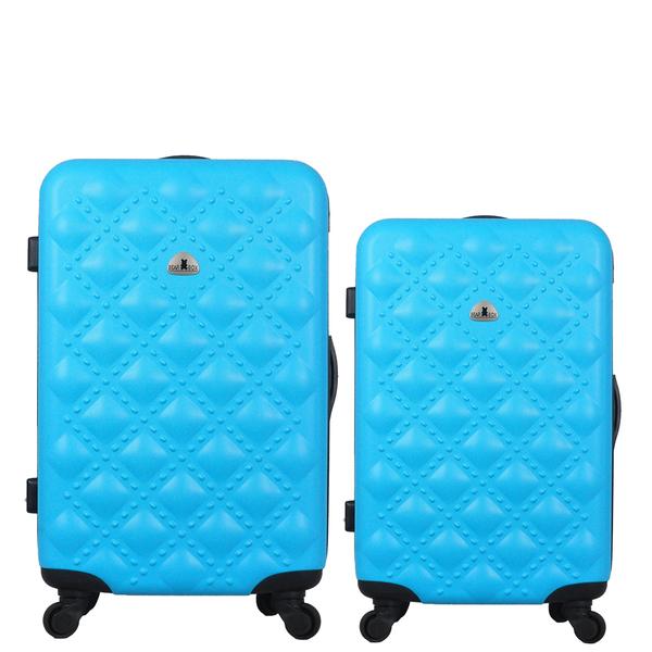 行李箱28+24吋 ABS材質 時尚香奈兒系列【Bear Box】