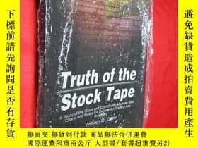 二手書博民逛書店Truth罕見of the Stock Tape: A Stud