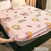 夾棉床笠單件防水加厚隔尿床罩床單防滑固定1.8m席夢思床墊保護套 名購新品