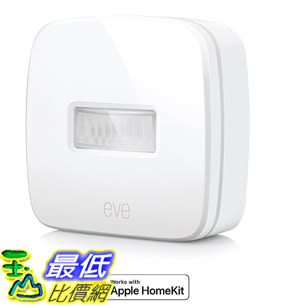 [107美國直購] Eve Motion - Wireless Motion Sensor with Apple HomeKit technology IPX 3 water resistance Low Energy