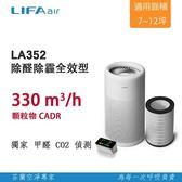 【超值2入組】LIFAair LA352 家用空氣清淨機 第二件半價