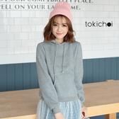 東京著衣-tokichoi-青春無敵連帽內刷毛長袖上衣-S.M(6024213)