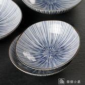 陶瓷盤子菜盤家用碟子餃子盤甜品盤創意復古餐盤 全館單件9折