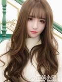 假髮 假髪女長卷髪大波浪蓬松自然網紅新式長髪氣質修臉全頭套式假髪套 免運 交換禮物