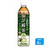 愛之味健康油切分解茶590MLx6入【愛買】
